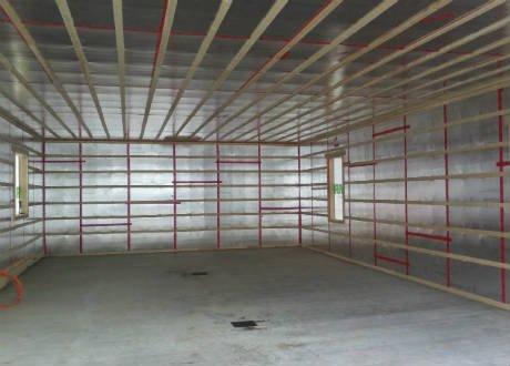 R alisations de garage garage isol carsim - Plancher chauffant garage ...